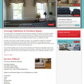 Website Design | Coverage Upholstery & Furniture Repair