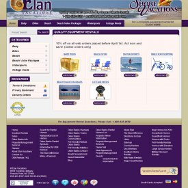 eCommerce Web Development | Elan Vacations