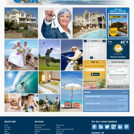 Web Development | OBX Getaways