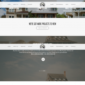 Web Design & Development – The Coastal Cottage Co. – Outer Banks Design-Build
