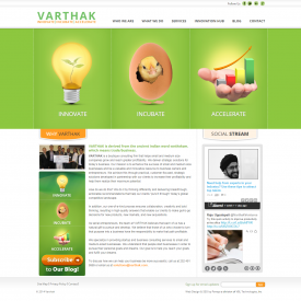 Web Design & Development – Varthak