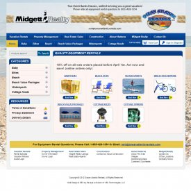 eCommerce Web Development | Midgett Realty