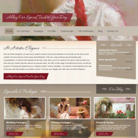 Web Development | Artistic Elegance