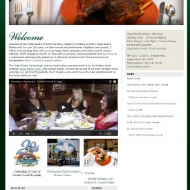 Website Re-Skin, Social Media & SEO | Kellys Restaurant