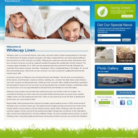 Web Design & SEO | White Cap Linen