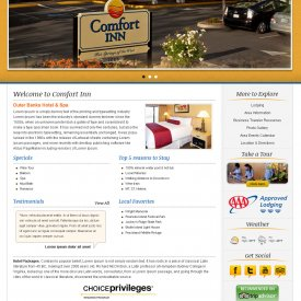 Web Development & Design | Comfort Inn & Suites