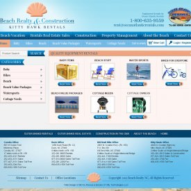 eCommerce Web Development | Beach Realty
