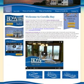 Web Design | Corolla Bay