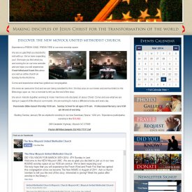 Web Development | Moyock United Methodist Church