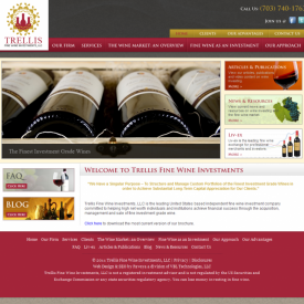Web Development | Trellis Wine