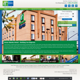 Web Development & Design | Holiday Inn Express