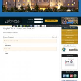 Web Development & Design | Fairfield Inn & Suites